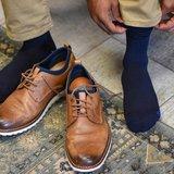 TS5 navy in schoenen