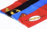 de vier dc comic kleuren