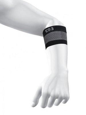 ES3 Elleboog compressie bandage (zwart)